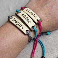 Mudlove bracelets