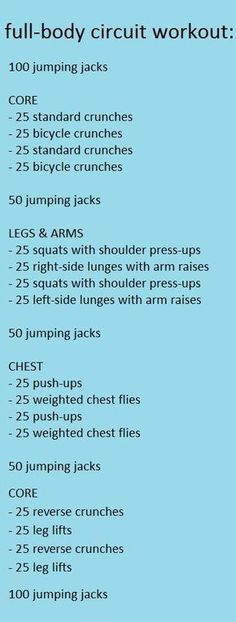 Full body Workout | Posted By: NewHowtoLoseBellyFat.com