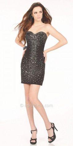 Nora Prom Dress by Mon Cheri Shorts