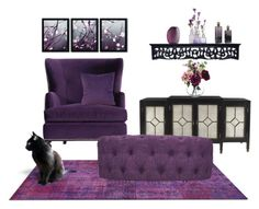 """""""Sophisticated Living--TOP SET!"""" by melody-renfro-goldsberry ❤ liked on Polyvore featuring interior, interiors, interior design, home, home decor, interior decorating, Bernhardt, Trademark Fine Art, Howard Elliott and Paper Whites"""