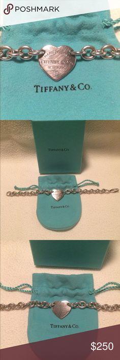 RETURN TO TIFFANY HEART TAG BRACELET RETURN TO TIFFANY HEART TAG BRACELET Tiffany & Co. Jewelry Bracelets