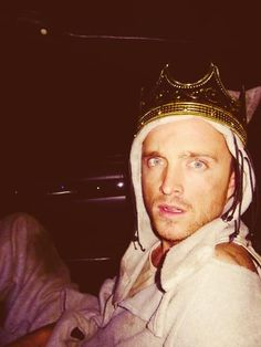 Aaron Paul.... dressed as Max from Where the Wild Things Are. I love him even more now.