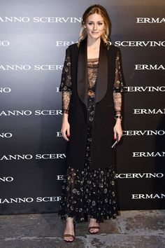 Olivia Palermo - Ermanno Scervino SS17 Front Row - September 2016 #opss17mfw