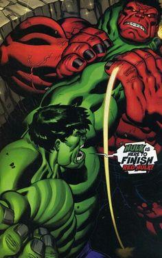 Complementair contrast. Rood en groen staat tegenover elkaar in de kleurencirkel en versterken elkaar dus.