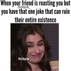 Contains Fifth Harmony Memes I wanna share if easily offended then… Funny School Memes, Funny Relatable Memes, Funny Jokes, Ariana Grande Meme, Wife Memes, Best Friend Quotes Funny, Fith Harmony, Self Deprecating Humor, Fifth Harmony Camren