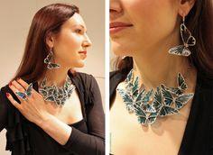 Arunashi Butterfly Necklace. London Jewelers, Manhasset, NY Arunashi Jewelry