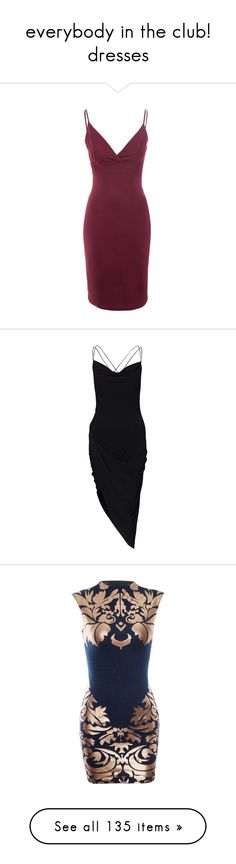 """""""everybody in the club! dresses"""" by toothpastekissesdream ❤ liked on Polyvore featuring dresses, robe, burgundy midi dress, body con dress, purple bodycon dress, bodycon cocktail dress, textured dress, vestidos, black and party dresses"""