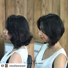 Looking for the best way to bob hairstyles 2019 to get new bob look hair ? It's a great idea to have bob hairstyle for women and girls who have hairstyle way. You can get adorable and stunning look with… Continue Reading → Bob Hairstyles 2018, Cute Bob Hairstyles, Trending Hairstyles, Asymmetrical Bob Haircuts, Fine Hair, Short Hair Cuts, Hair Type, Hair Trends, Short Hairstyles
