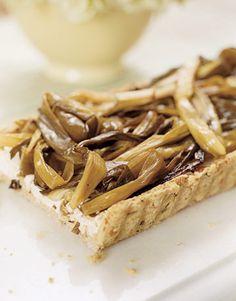 Spring Onion Tart #recipes #healthy