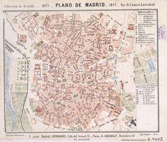 Plano de Madrid por D. Carlos Lassailly, 1877