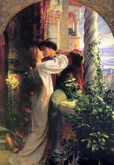 Frank Dicksee Romeo and Juliet art painting for sale; Shop your favorite Frank Dicksee Romeo and Juliet painting on canvas or frame at discount price. Frank Dicksee, Art Amour, Romeo Und Julia, Lawrence Alma Tadema, Renaissance Kunst, Romeo Y Julieta, Romantic Paintings, Classic Paintings, Beautiful Paintings