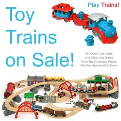 If you're anything like me, you probably find it hard to resist a great deal on a wooden train set. I usually glance at any toy sale Amazon has to see if there are any good train deals that I can pass on to my readers, but in this case I was truly shocked at...Read More »