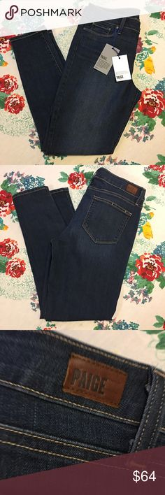 "Paige Premium Denim Verdugo Ankle Skinny Jean Tami Paige Premium Denim Verdugo Ankle Skinny Jean Tami Size 31 Dark Wash Womens  New with tags  NO RETURNS  Please review measurements and photos carefully as we do not offer returns.   Inseam- 28""   Waist laying flat- 16""   Rise- 9""   All measurements are approximate PAIGE Jeans Ankle & Cropped"
