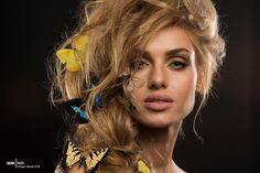 BUTTERFLY HEAVEN  Picture taken in DAGMA PHOTO studio (AUGUST 2014)  Photo: Grzegorz Sikorski (GPS) @ DAGMA PHOTO Lighting setup: Katarzyna Rzeszowska Model: Monika Gocman Mua: Natalia Polek Hair: Artur Szpytko