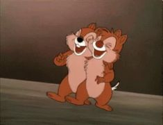The perfect ChipAndDale Chipmunks Animated GIF for your conversation. Vintage Cartoons, Old Cartoons, Disney Cartoons, Funny Cartoons, Disney Movies, Classic Cartoon Characters, Classic Cartoons, Chipmunks, Disney Animation