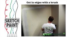 Green Monkey AV's SketchPaint: How to install Whiteboard Paint. Great technical insight into our best selling product!