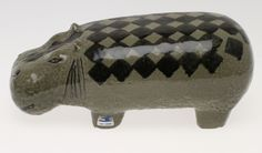 13181st FIGURE, Hippopotamus, ceramics, Lisa Larson Gustavsberg. - Auctionet