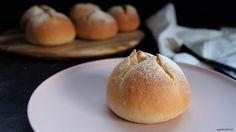Potato Bacon Buns Buns, Bacon, Potatoes, Bread, Recipes, Food, Bread Rolls, Potato, Rezepte