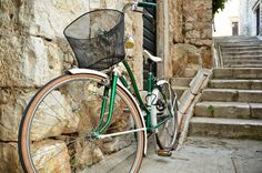 Cycle through quiet towns and villages