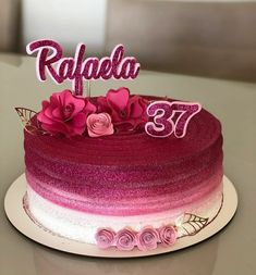 Birthday Wishes For Women, Cake Decorating Piping, Paper Crafts, Diy Crafts, Diy Tutorial, Manual, The Incredibles, Desserts, Pink