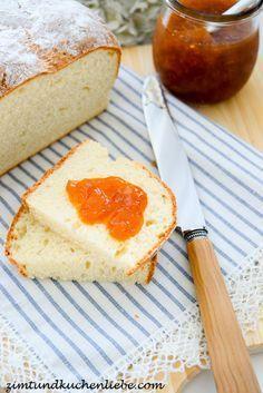 Schnelles Quark Brot