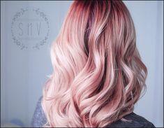 Frisuren mit Pastell Rosa Haare. | Einfache Frisuren