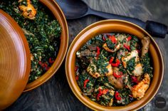 BN Cuisine with Chef Fregz: Guilt Free Edikainkong | Bella Naija