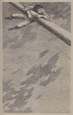 Mervyn Peake's illustrations for Robert Louis Stevenson's Treasure Island. rigTI4