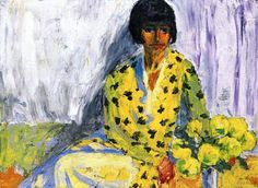 Emile Nolde, 'Portrait of a Woman', 1930