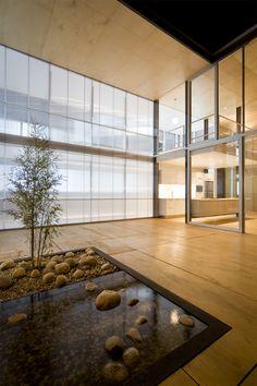 Glass indoor garden