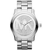 My next gift to myself :D  Michael Kors Watch, Women's Runway Stainless Steel Bracelet 45mm MK5544