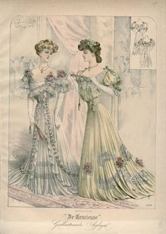 Gracieuse. Geïllustreerde Aglaja, 1907, aflevering 1, pagina 12/3