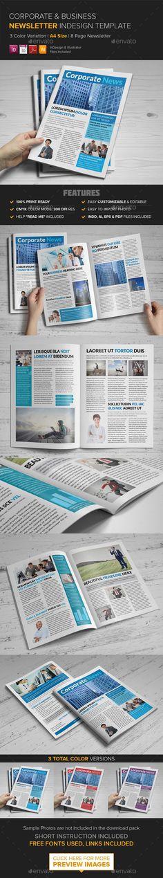 Corporate Multipurpose Newsletter Template