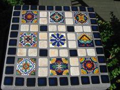Beautiful Mosaic Stepping Stones via Etsy