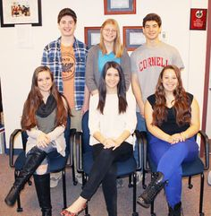 The Class of 2015 Honor Grads are Alexandria Bouchard, Julia Episcopio, Conor O'Riordan, Daniel Solomon, Jaclyn Ulvila and Anna Zirilli.