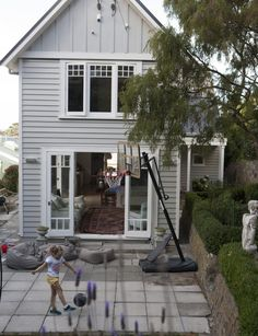 Resene 'Foggy Grey' In Wellington a 1900s heritage home is full of light, life and love - Homes To Love