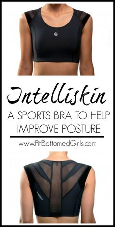 A sports bra that helps give you better posture? We try it. #Intelliskin