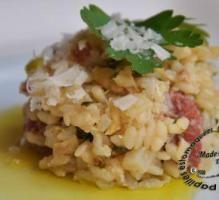 Recette - Risotto aux merguez, chou rave et haricots jaunes - Notée 4.1/5 par les internautes