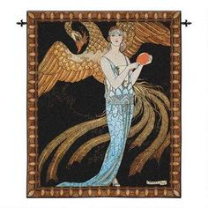 Sortileges Art Deco Wall Tapestry $199.00