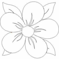 New Embroidery Flowers Designs Quilt Blocks Ideas Embroidery Flowers Pattern, Applique Patterns, Beaded Embroidery, Flower Patterns, Flower Designs, Quilt Patterns, Flower Pattern Drawing, Embroidery Ideas, Fabric Painting