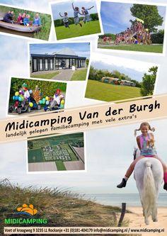 Midicamping Van der Burgh: waar het avontuur begint aan de rand van je tent!