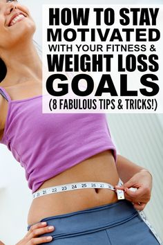 If you've reached a plateau in your weightloss goals, or just need a little motivation to get back on track with your fitness routine, this list of 8 simple tips to teach you how to stay motivated with your weightloss goals is for you! Tips 4 and 6 have recently made a HUGE difference in not only getting me back to the gym 4+ times a week, but also in pushing myself to get the most of our my workouts. And tips 6 and 8 help me eat less throughout the day. What keeps YOU motivated with your…
