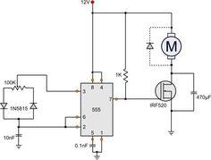 555 DC Motor Speed Control: 6 Steps