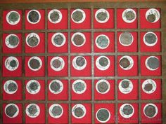 Colección de 314 monedas