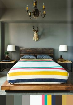 A bed fit for a Canuck... (pinned by www.redwoodclassics.net)