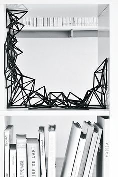 Hugo Arcier | Mutation #1 | 3D printed sculpture, Edition of 15 | created to fit precisely into the IKEA Expedit bookcase