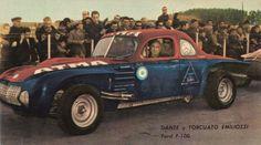 1966 Ford F-100 Baufer, Carrocería y bastidor: Ford 42. Motor: Ford 272 F-100, Cilindrada: 3995 cm3, Potencia: 250 H.P., Vel/máx.: 240 km/h, Carburación: 4 Weber V doble