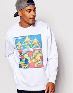ASOS Oversized Sweatshirt With TMNT