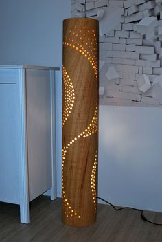 11 Ideas for Floor Lighting Ideas For Floor Lighting - 5 Cool floor lamps for reading 30 Best Floor Lamps to Add Lighting with Style and Charm in 2020 Interesting Industrial Ligh. Wooden Floor Lamps, Wood Lamps, Cool Floor Lamps, Wooden Flooring, Orange Lamps, Column Design, Pipe Lamp, Lamp Sets, Led Lampe