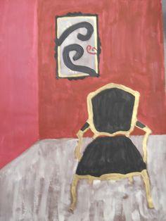 8th Grade Art-Chair Paintings